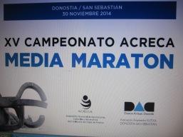 XV Media MAraton ACRECA