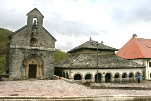 Imagen de las capillas del Sancti Spiritus y de Santiago o de los peregrinos